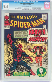 The Amazing Spider-Man #15 (Marvel, 1964) CGC NM+ 9.6 Cream to off-white pages