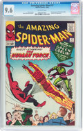 Silver Age (1956-1969):Superhero, The Amazing Spider-Man #17 (Marvel, 1964) CGC NM+ 9.6 Off-whitepages....