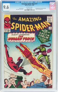 The Amazing Spider-Man #17 (Marvel, 1964) CGC NM+ 9.6 Off-white pages