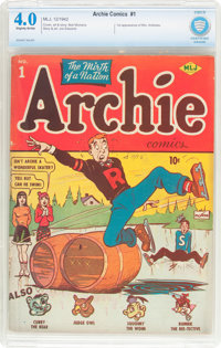 Archie Comics #1 (Archie, 1942) CBCS VG 4.0 Slightly brittle pages