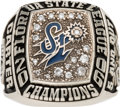 Baseball Collectibles:Others, 2006 Port St. Lucie Mets Florida State Championship Ring from TheGary Carter Collection....