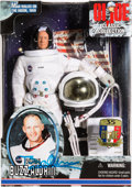 "Explorers:Space Exploration, Buzz Aldrin Signed Hasbro G.I. Joe Classic ""Man Walks on the Moon,""New in Box, Originally from His Personal Collection...."