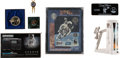 Explorers:Space Exploration, Buzz Aldrin: Collection of Memorabilia and Endorsed Products (SevenItems), all Originally from His Personal Collection. ... (Total: 7Items)