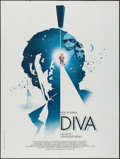 "Movie Posters:Foreign, Diva (Gef CCFC, 1981). French Grande (47"" X 63""). Foreign.. ..."