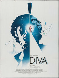"Diva (Gef CCFC, 1981). French Grande (47"" X 63""). Foreign"