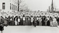 Photographs, Ernest Withers (American, 1922-2007). I Am A Man, sanitation workers assemble at Clayborn Temple for solidarity march, (Dr...