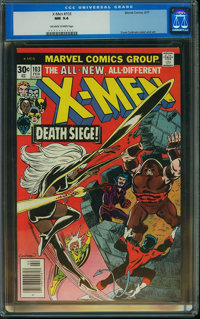 X-Men #103 (Marvel, 1977) CGC NM 9.4 Off-white to white pages
