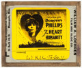 "Movie Posters:War, The Heart of Humanity (Universal, 1918). Glass Slide (3.25"" X 4"").War.. ..."