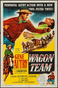 """Wagon Team & Other Lot (Columbia, 1952). One Sheets (2) (27"""" X 41""""). Western. ... (Total: 2 Items)"""