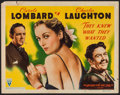 """Movie Posters:Drama, They Knew What They Wanted (RKO, 1940). Title Lobby Card (11"""" X14""""). Drama.. ..."""