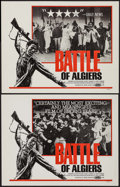 """Movie Posters:Foreign, The Battle of Algiers & Others Lot (Irving Sochin, 1968). Lobby Cards (2) (11"""" X 14""""), One Sheets (70) (27"""" X 41""""), & French... (Total: 73 Items)"""