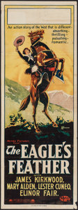 """Movie Posters:Western, The Eagle's Feather (Paramount, 1923). Australian Pre-War Daybill (14.5"""" X 40""""). Western.. ..."""