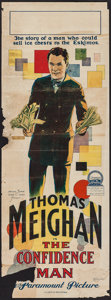 "Movie Posters:Crime, The Confidence Man (Paramount, 1924). Australian Pre-War Daybill(14.5"" X 40""). Crime.. ..."