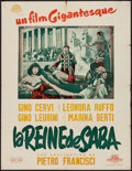 """Movie Posters:Foreign, Queen of Sheba (Gamma-Jeannic-Film, 1952). French Affiche (23.75"""" X 31.25""""). Foreign.. ..."""