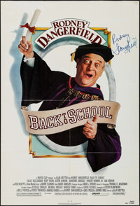 """Back to School (Orion, 1986). Autographed One Sheet (27"""" X 39.75""""). Comedy"""