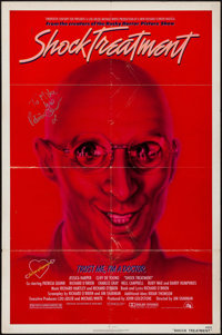 """Shock Treatment (20th Century Fox, 1981). Autographed One Sheet (27"""" X 41""""). Rock and Roll"""