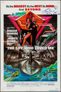 "Movie Posters:James Bond, The Spy Who Loved Me (United Artists, 1977). Autographed One Sheet(27"" X 41""). James Bond.. ..."