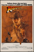 "Movie Posters:Adventure, Raiders of the Lost Ark (Paramount, 1981). One Sheet (27"" X 41""). Adventure.. ..."