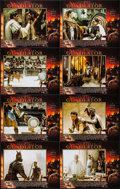 "Movie Posters:Action, Gladiator (UIP, 2000). International Lobby Card Set of 8 (11"" X14""). Action.. ... (Total: 8 Items)"