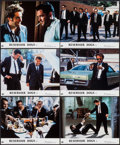 "Movie Posters:Crime, Reservoir Dogs & Other Lot (Rank, 1992). British Front of HouseColor Photo Set of 6 (8"" X 10"") & British 70mm Roadshow Prog...(Total: 7 Items)"