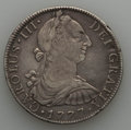 Mexico, Mexico: Charles III 8 Reales Pair 1777-1779,... (Total: 2 coins)