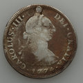 Mexico, Mexico: Charles III 4 Reales Quartet 1774-1784,... (Total: 4 coins)
