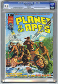 Magazines:Science-Fiction, Planet of the Apes #4 (Marvel, 1975) CGC NM+ 9.6 White pages....