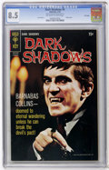 Silver Age (1956-1969):Horror, Dark Shadows #4 File Copy (Gold Key, 1970) CGC VF+ 8.5 Off-white towhite pages....