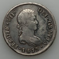 Chile, Chile: Ferdinand VII 8 Reales 1813 So-FJ VF - Cleaned, Repaired,Corroded,...