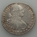 Chile, Chile: Charles IV 8 Reales Pair 1804-1806,... (Total: 2 coins)