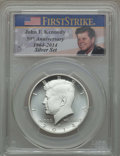 Kennedy Half Dollars, 2014-S 50C Silver, Enhanced Finish, 50th Anniversary Set, FirstStrike, MS70 PCGS. PCGS Population: (1614). NGC Census: (0)...