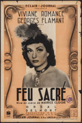 """Movie Posters:Foreign, Feu Sacre (Éclair-Journal, 1942). French Petite (15.75"""" X 23.75""""). Foreign.. ..."""