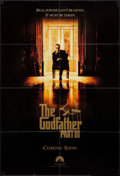 """Movie Posters:Crime, The Godfather Part III (Paramount, 1990). One Sheet (26.75"""" X 39.75"""") SS Advance & Danish One Sheet (27.5"""" X 39.75"""") SS. Cri... (Total: 2 Items)"""