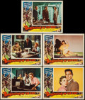 """Movie Posters:Science Fiction, Beginning of the End (Republic, 1957). Lobby Cards (5) (11"""" X 14"""").Science Fiction.. ... (Total: 5 Items)"""