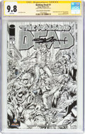 Modern Age (1980-Present):Horror, The Walking Dead #1 Wizard World New York Sketch Edition -Signature Series (Image, 2013) CGC NM/MT 9.8 White pages....