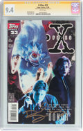 Modern Age (1980-Present):Science Fiction, X-Files #23 Signature Series (Topps Comics, 1996) CGC NM 9.4 Whitepages....