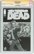 Modern Age (1980-Present):Horror, Walking Dead #1 Wizard World Tulsa Sketch Edition- Signature Series(Image, 2015) CGC NM/MT 9.8 White pages....