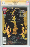Modern Age (1980-Present):Science Fiction, The X-Files: Season One #1 Signature Series (Topps Comics, 1997)CGC NM/MT 9.8 White pages....