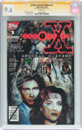 Modern Age (1980-Present):Science Fiction, X-Files Special Edition #1 Signature Series (Topps Comics, 1995)CGC NM+ 9.6 White pages....