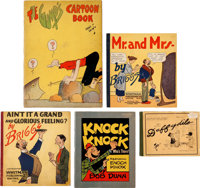 Platinum Age Group of 5 (No Publisher, 1910s-20s) Condition: Average VG/FN.... (Total: 5 Comic Books)