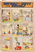 Platinum Age (1897-1937):Miscellaneous, Buttons & Fatty in the Funnies W936 (Whitman, 1927) Condition:FR....