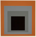 Prints:Contemporary, Josef Albers (1888-1976). Untitled, from the Homage aucarré portfolio, 1964. Screenprint in colors on wove paper.1...