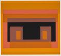 Prints:Contemporary, Josef Albers (1888-1976). Variant VIII, from TenVariants, 1966. Screenprint in colors on wove paper. 11 x11-3/4 in...