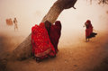 Photographs:Chromogenic, Steve McCurry (American, b. 1950). Dust Storm, Rajasthan, India, 1983. Dye coupler. 39 x 59 inches (99.1 x 149.9 cm). Si...