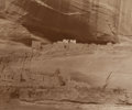 Photographs:Gelatin Silver, Karl (Carl) Moon (American, 1878-1948). White-House Ruin, Canyonde Chelly, Arizona, 1906. Gelatin silver. 13-1/2 x 16-1...