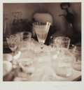 Photographs:Gelatin Silver, David Halliday (American, b. 1958). Still Life with Glasses, 1994. Sepia-toned gelatin silver. 12-3/8 x 12-3/8 inches (3...