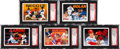Baseball Cards:Lots, 1990-1992 Upper Deck Baseball Heroes Autographed SGC AuthenticCollection (5). ...