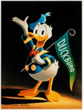 """Memorabilia:Disney, Carl Barks Sixty Years Quacking Signed Limited """"Sixtieth Anniversary Edition"""" Lithograph Print #27/100 (Another Ra..."""