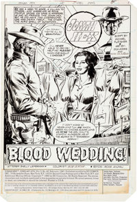 Dick Ayers and Tony De Zuniga Jonah Hex #45 Complete 17-Page Story Original Art (DC Comics, 1981).... (Total: 17 Origina...