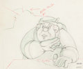 Animation Art:Production Drawing, Pinocchio Animation Drawing (Walt Disney, 1940)....